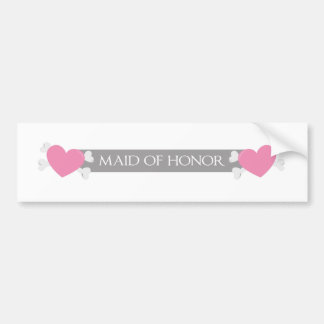 Will you be my maid of honor? bumper sticker