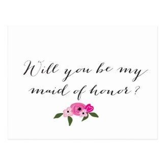 Will you be my Maid of Honor - Card
