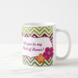 Will you be my Maid of Honor Mug