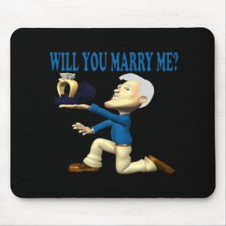 Will You Marry Me 11 Mouse Pad