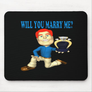 Will You Marry Me 7 Mouse Pad