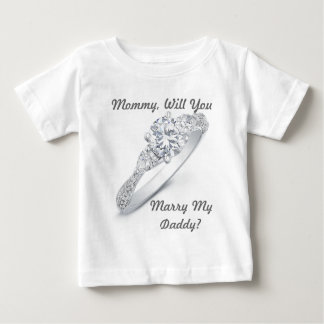 Will You Marry Me? Baby T-Shirt