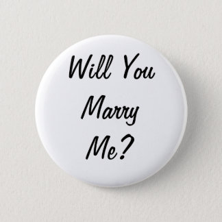 Will you marry me? Badge