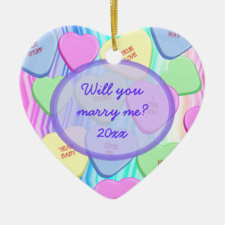 Will You Marry Me Customizable Keepsake Ornament