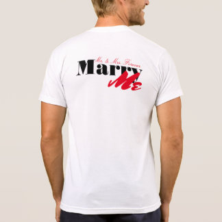 Will You Marry Me (For real this time) T-Shirt