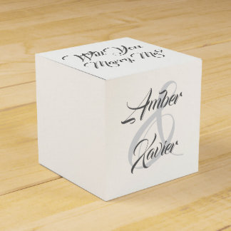 Will You Marry Me gift box