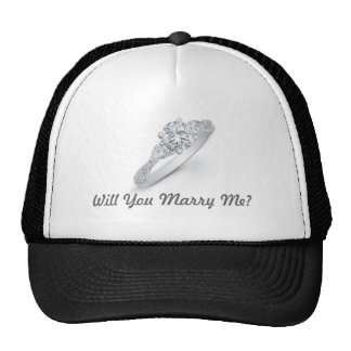 Will You Marry Me Hats