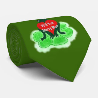 WILL YOU MARRY ME, Proposal Frog Tie
