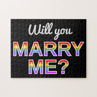 """Will you MARRY ME?"" Puzzle"