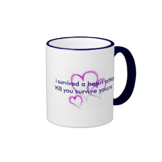 Will you survive your heart attack ??? coffee mug