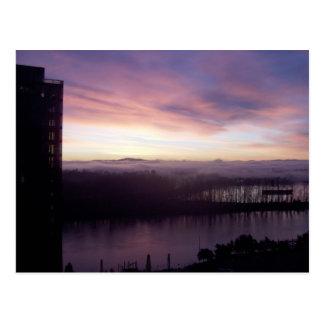 Willamette Sunrise Postcard