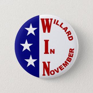 Willard In November with stars 6 Cm Round Badge
