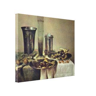 Willem Claeszoon Heda - Dessert Gallery Wrap Canvas