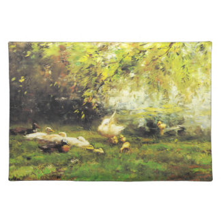 Willem Maris - Duck heaven Placemat