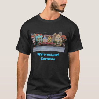 Willemstaad Curacao Black Tee