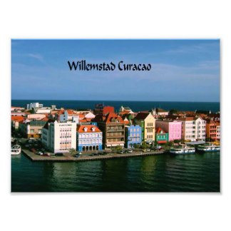 Willemstad Curacao Photographic Print