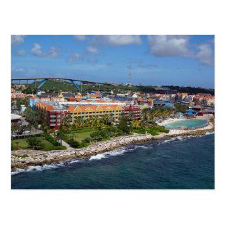 Willemstad, Curacao Postcard