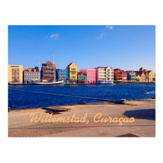 Willemstad, Curaçao Postcard