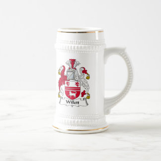 Willet Family Crest Beer Stein