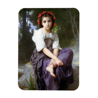 William Adolphe Bouguereau Art Magnet
