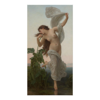 William-Adolphe Bouguereau  L'aurore Dawn Poster