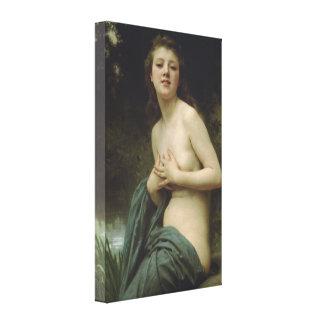 William-Adolphe Bouguereau - Spring Breeze Gallery Wrap Canvas