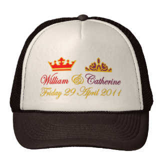 William and Catherine Royal Wedding Hats