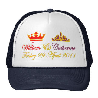 William and Catherine Royal Wedding Mesh Hat