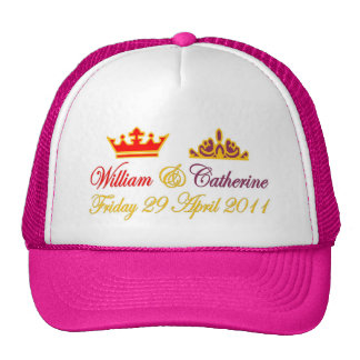 William and Catherine Royal Wedding Hat