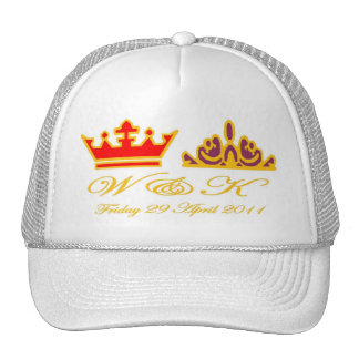 William and Kate Royal Wedding Mesh Hats