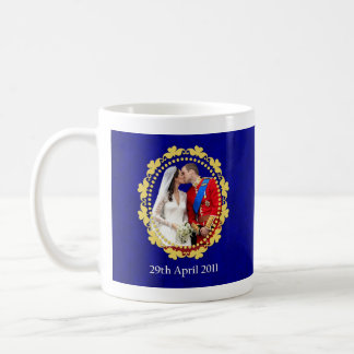 William and Kate Royal Wedding Kiss Coffee Mug