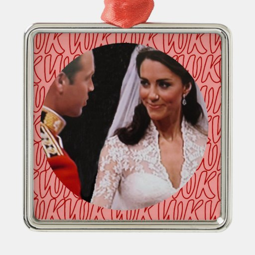William and Kate royal wedding ornament