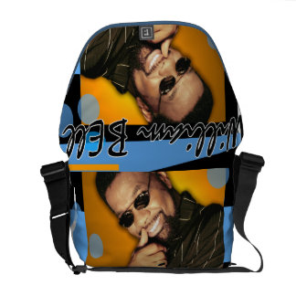 William Bell Recording Artist and Music Pioneer Messenger Bags