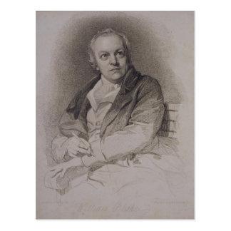 William Blake (1757-1827) engraved by Luigi Schiav Postcard