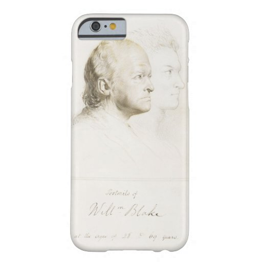 William Blake (1757-1827) in Youth and Age (graphi iPhone 6 Case