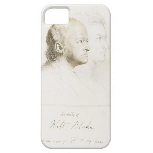William Blake (1757-1827) in Youth and Age (graphi iPhone 5 Cover