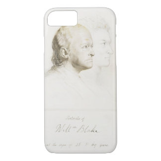 William Blake (1757-1827) in Youth and Age (graphi iPhone 7 Case