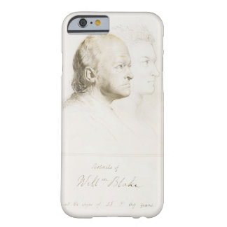 William Blake 1757-1827 in Youth and Age graphi iPhone 6 Case