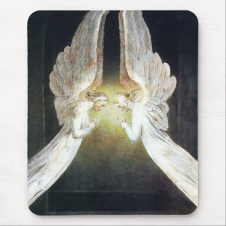 William Blake Angels Mouse Pad