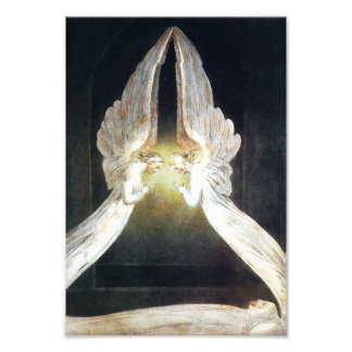 William Blake Angels Print Art Photo