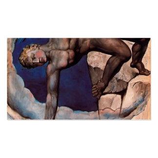 William Blake- Antaeus setting down Dante Virgil Business Cards