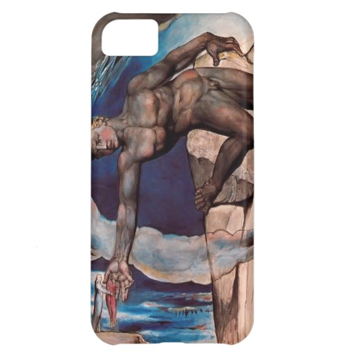 William Blake- Antaeus setting down Dante & Virgil iPhone 5C Case