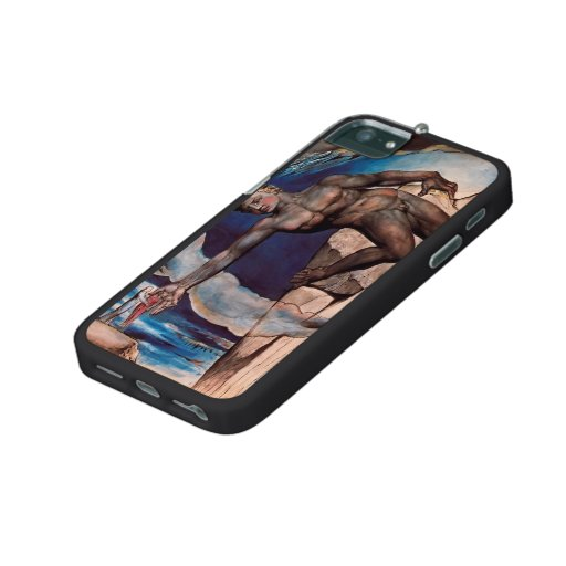 William Blake- Antaeus setting down Dante & Virgil iPhone 5 Covers