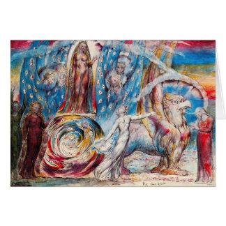 William Blake Beatrice Note Card