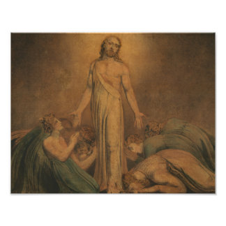 William Blake - Christ Appearing to the Apostles Art Photo