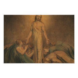 William Blake - Christ Appearing to the Apostles Photographic Print