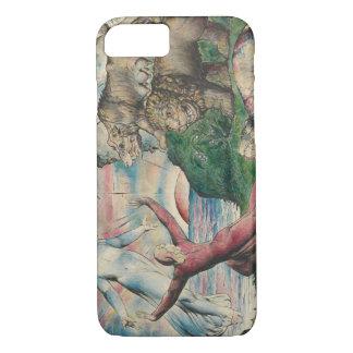 William Blake -Dante Running from the three Beasts iPhone 7 Case