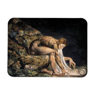 William Blake Isaac Newton Magnet