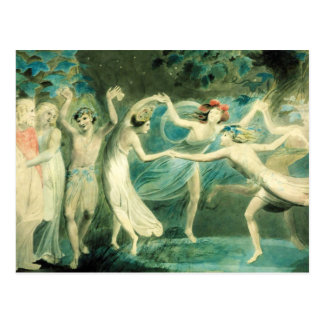 William Blake Midsummer Night's Dream Postcard