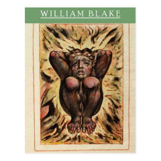 William Blake Urizen Postcard